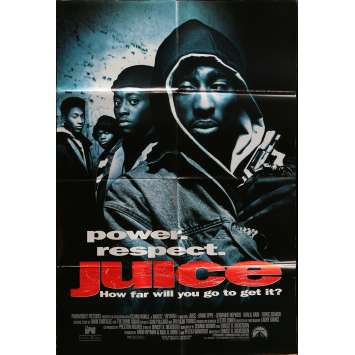 JUICE Movie Poster 29x41 in. - 1992 - Ernest R. Dickerson, Tupac Shakur