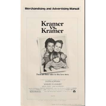 KRAMER VS KRAMER Pressbook 8x12 in. - 1979 - Robert Benton, Dustin Hoffman