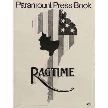 RAGTIME Pressbook 8x12 in. - 1981 - Milos Forman, James Cagney