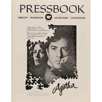 AGATHA Pressbook 8x12 in. - 1979 - Michael Apted, Dustin Hoffman