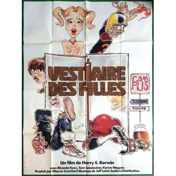 VESTIAIRES DE FILLES Affiche de film 120x160 cm - 1977 - Rhonda Fox, Harry Kerwin