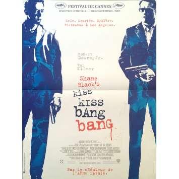 KISS KISS BANG BANG Affiche de film 40x60 cm - 2005 - Robert Downey Jr., Shane Black