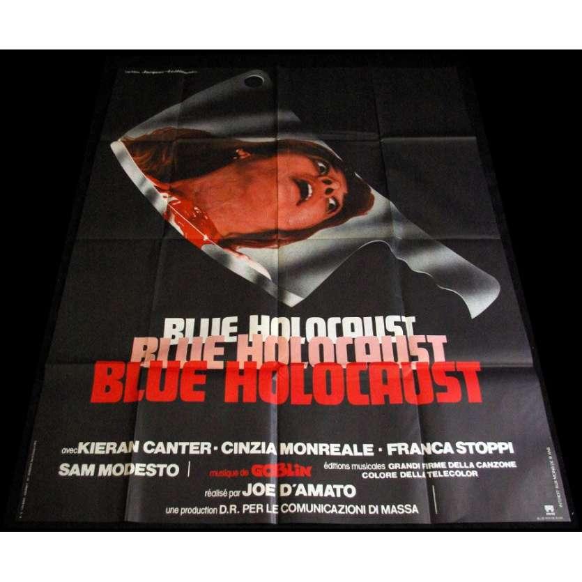 BLUE HOLOCAUST Affiche française 1979 Joe D'Amato