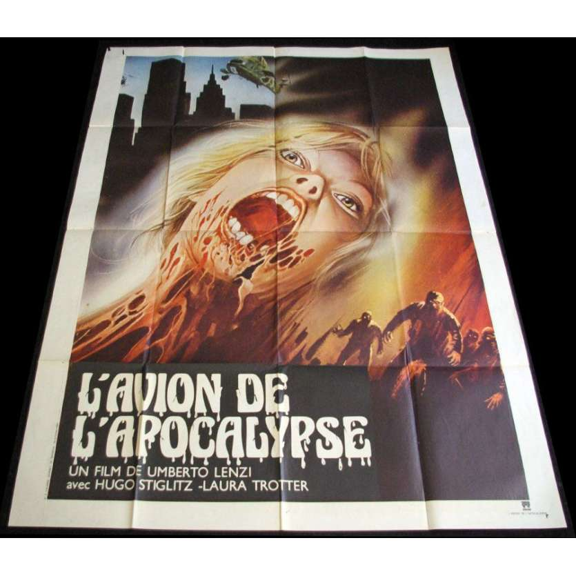 INVASION BY THE ATOMIC ZOMBIES French 1p Movie Poster Lenzi '80