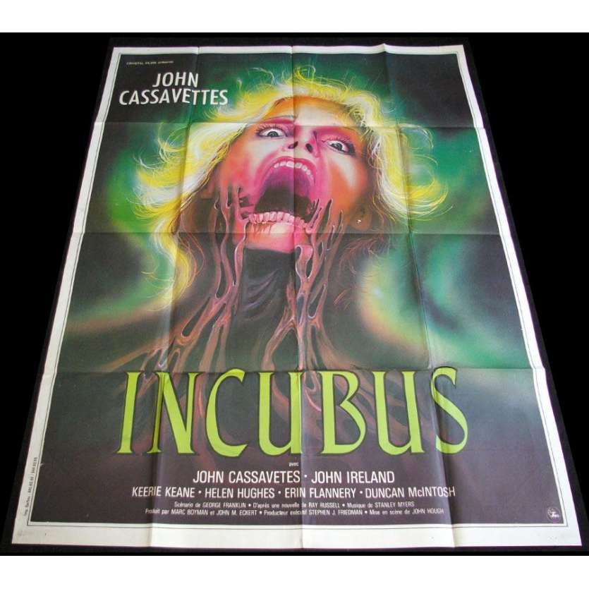 INCUBUS French 1p Movie Poster '82 Cassavetes Horror