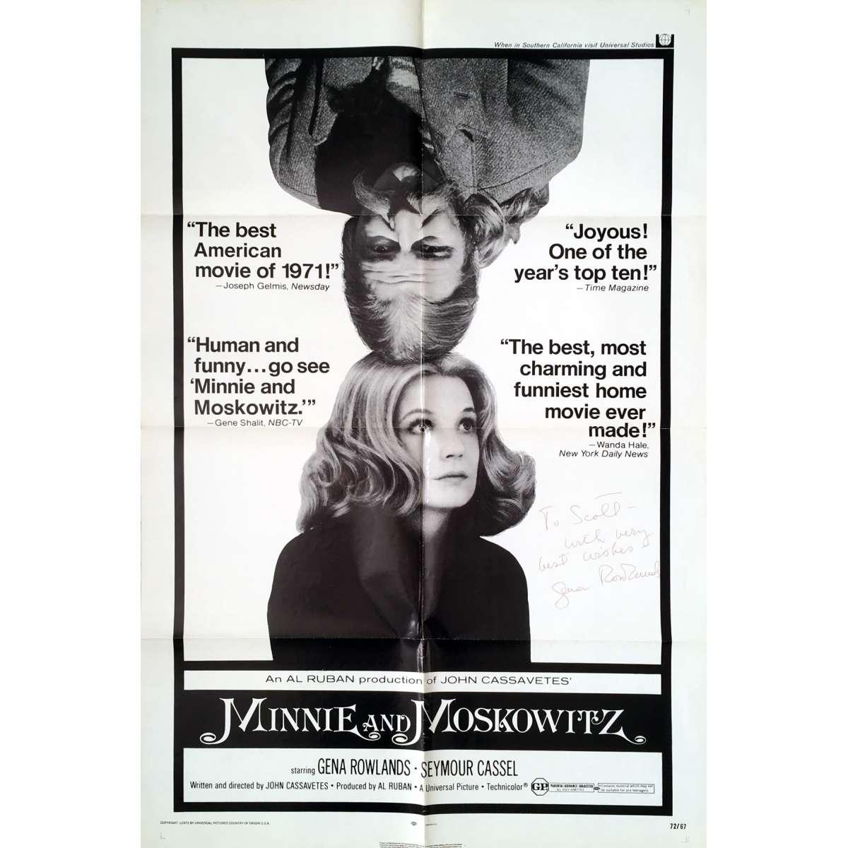 Minnie and Moskowitz  Wikipedia