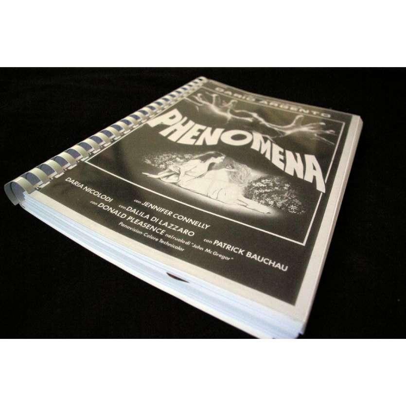 PHENOMENA Signed Script Dario Argento Gothic Horror !