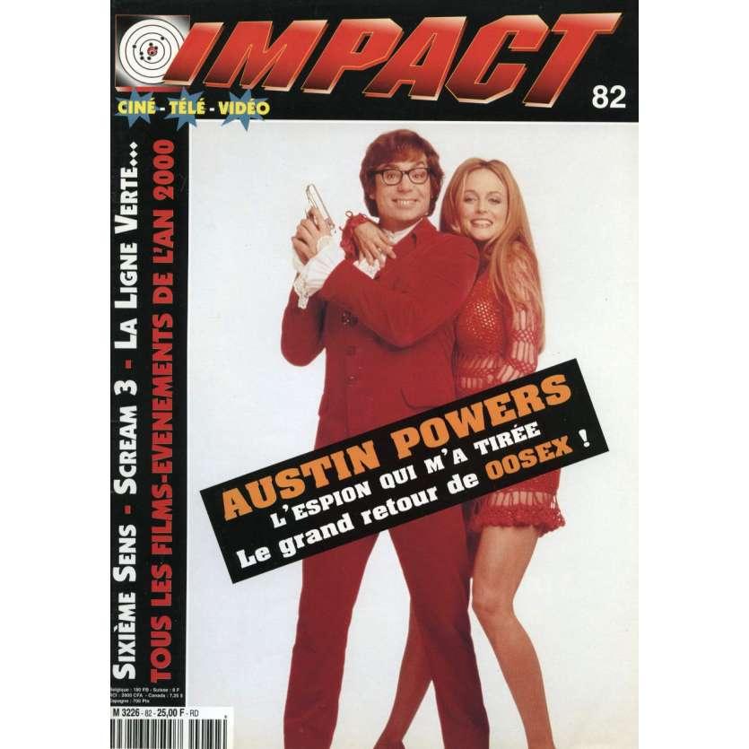 IMPACT N°82 Magazine - Austin Powers, 6th sense, Green Mile