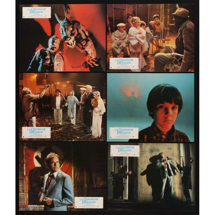 TWILIGHT ZONE 12 French LCs '83 Steven Spielberg, Dan Akroyd, Albert Brooks, John Lithgow!