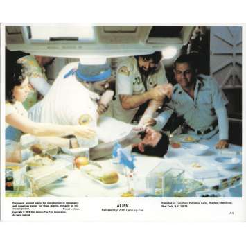 ALIEN Photo de presse couleur '79 , Ridley Scott, Sigourney Weaver - Chestbuster