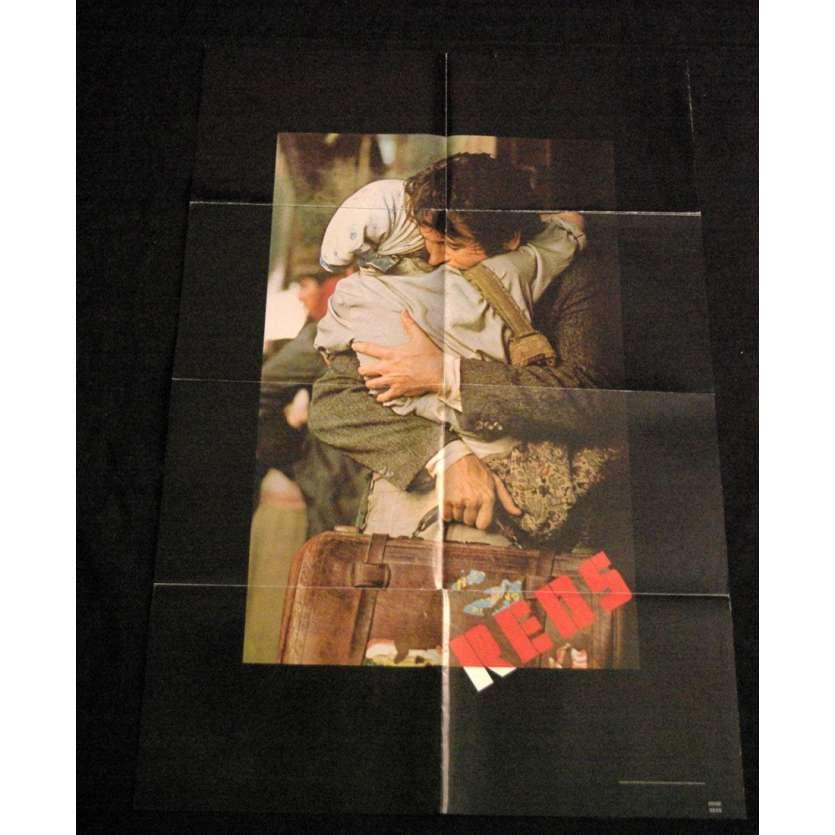 REDS Affiche US '85 Warren Beatty Vintage Movie Poster