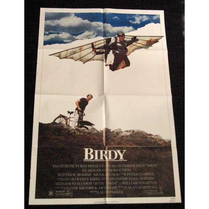 BIRDY Affiche US '85 Alan Parker, Nicolas Cage Vintage Movie Poster