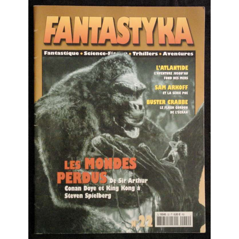 FANTASTIKA N°22 rare revue '01 Will O'Brien, Atlntide, King Kong