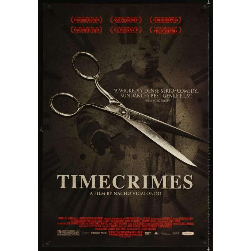 TIMECRIMES Affiche US '07 Los Cronocrimenes Original Rolled Movie Poster