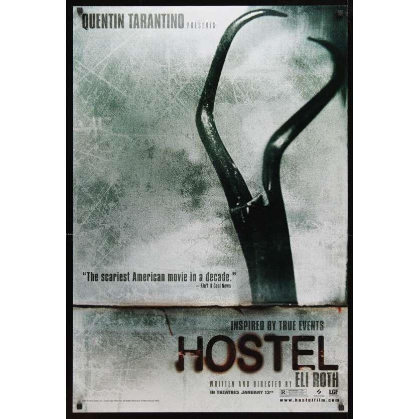 HOSTEL teaser DS 1sh Movie Poster '05 Eli Roth gore-fest