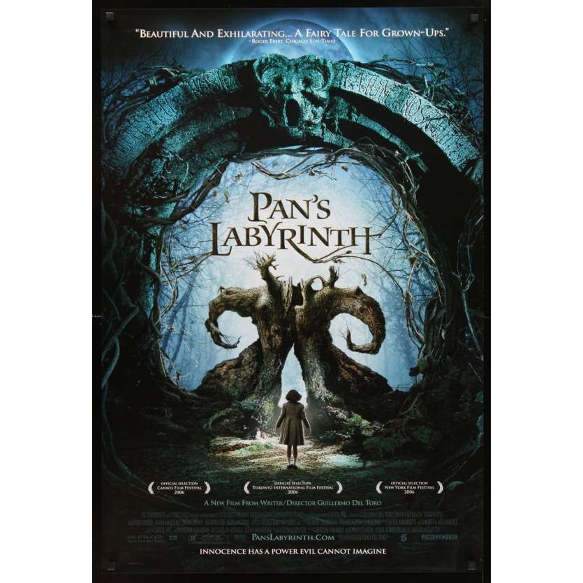 PAN'S LABYRINTH 1sh Movie Poster '06 del Toro's El laberinto del fauno