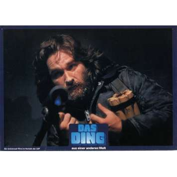 THE THING Lobby cards x3 DE '82 John Carpenter, Kurt Russel