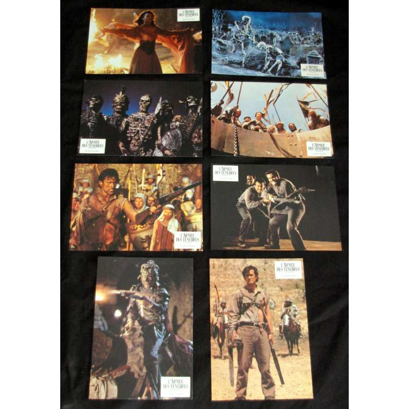 ARMY OF DARKNESS Lobby Cards '92 Sam Raimi Bruce Campbell