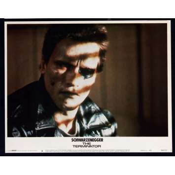 TERMINATOR Photo d'exploitation US '83 Schwarzenegger, James Cameron Lobby Card