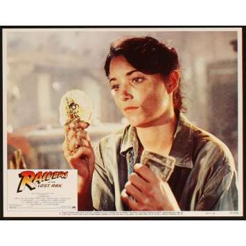 RAIDERS OF THE LOST ARK Ultra-rare 11x14 Original Lobby Card N8 '81 Spielberg