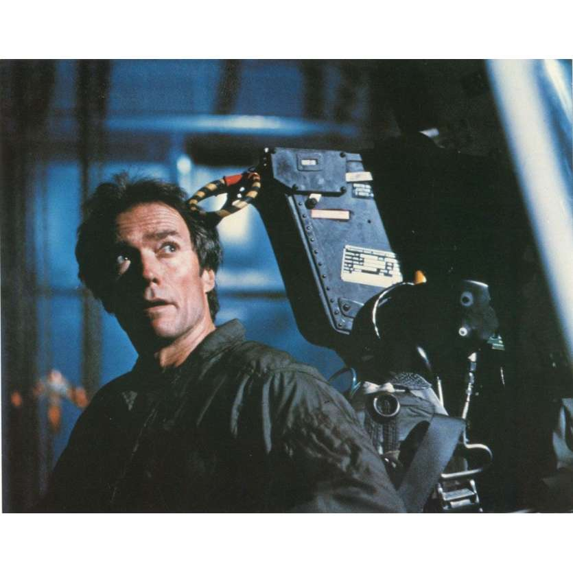 FIREFOX 8x10 mini LC '82 Clint Eastwood is the most devastating killing machine ever built