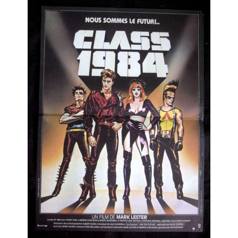 CLASS 84 Affiche 40x60 '83 Michael J Fox Movie Poster