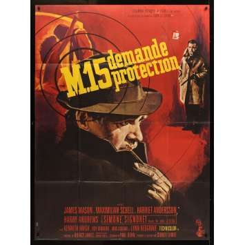 DEADLY AFFAIR French Movie Poster '67 James Mason, Maximilian Schell