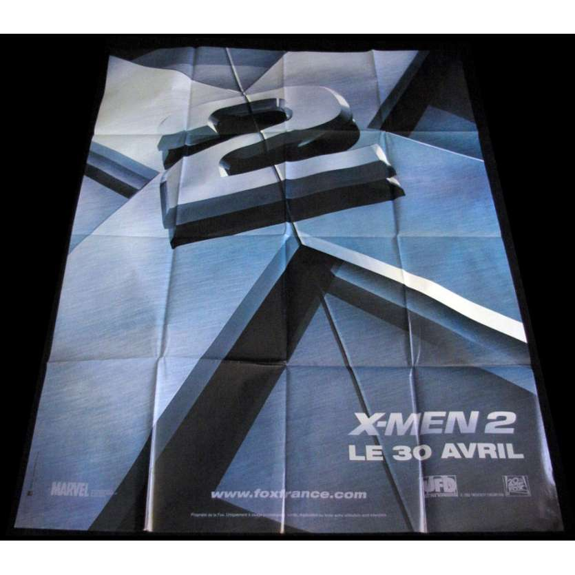 XMEN 2 French Movie Poster Huge 47x63 '02 Marvel Movie Poster
