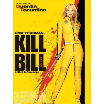 KILL BILL Affiche FR 40x60 '02 Tarantino, Uma Thurman, movie poster