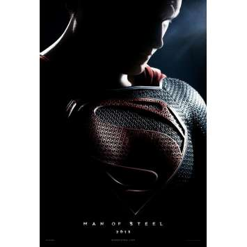 MAN OF STEEL Affiche FR 40x60 '13 Superman, Zack Snyder movie Poster