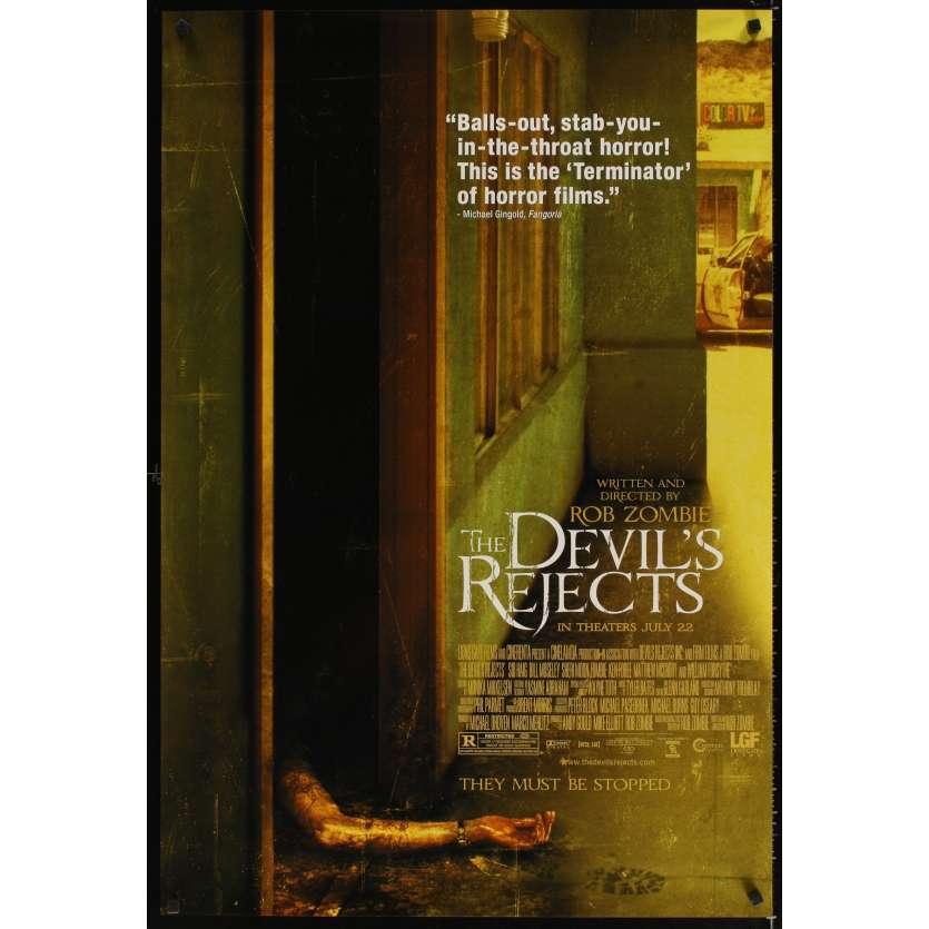 DEVIL'S REJECTS Affiche Américaine '05 Rob Zombie Movie poster