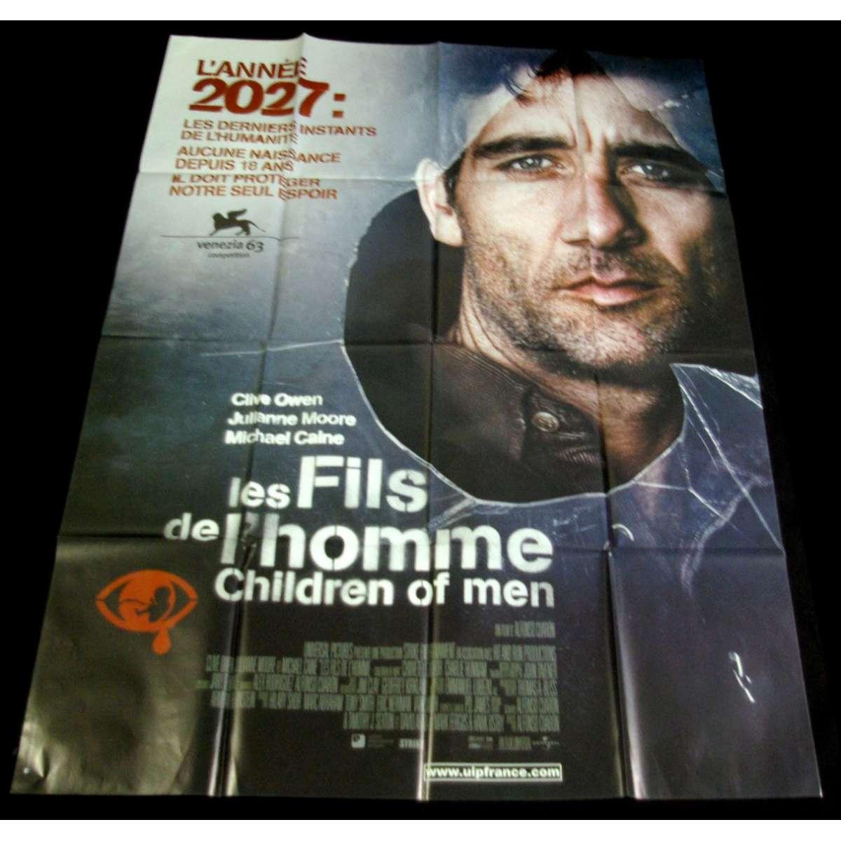 children of men french movie poster 47x63 00 clive owen