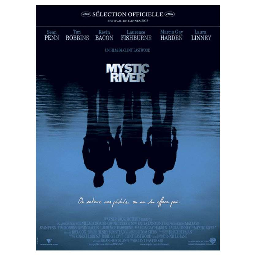 MYSTIC RIVER Affiche française '03 Sean Penn Clint Eastwood movie Poster