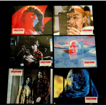 CREEPSHOW Photos d'exploitation x6 FR '83 Stephen King, George A. Romero Lobby cards