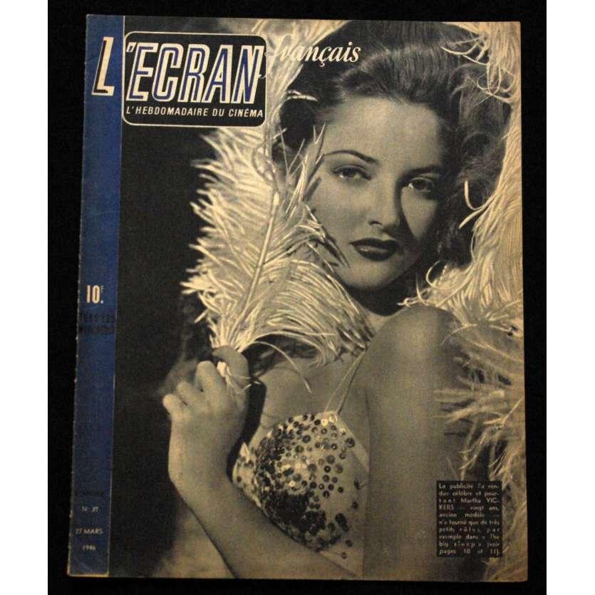 L'Ecran Français – N°039 – 1946 – Martha Vickers