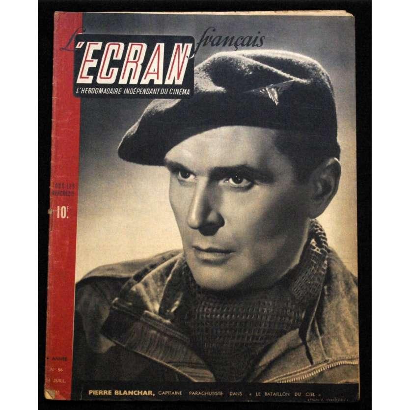 L'Ecran Français – N°056 – 1946 – Pierre Blanchar