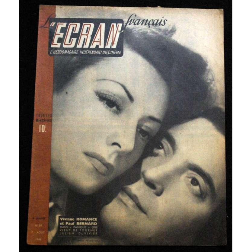 L'Ecran Français – N°058 – 1946 – Viviane Romance et Paul Bernard