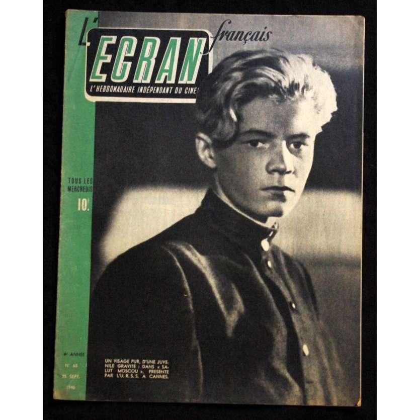 L'Ecran Français – N°065 – 1946 – Salut Moscou