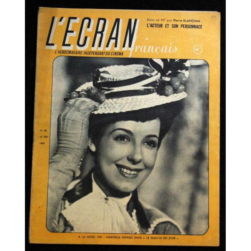 L'Ecran Français – N°085 – 1947 – Marcele Derrien