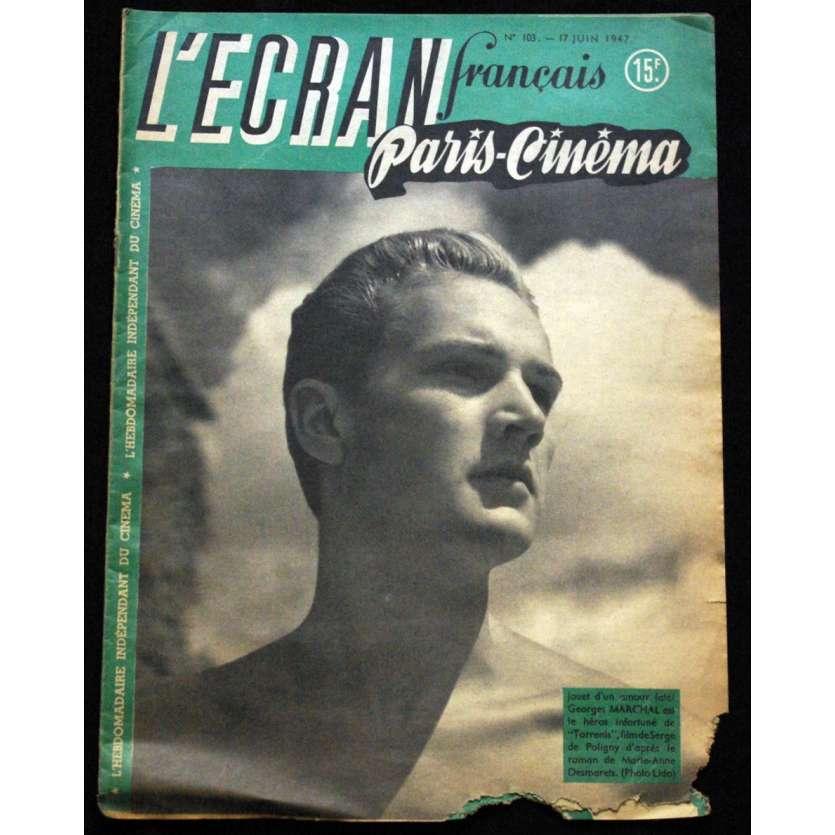 L'Ecran Français – N°103 – 1947 – George Marchal