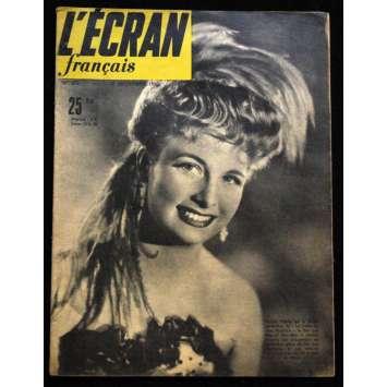 L'Ecran Français – N°271 – 1950 – Arlette Poirier
