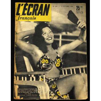 L'Ecran Français – N°274 – 1950 – Claudine Dupuy