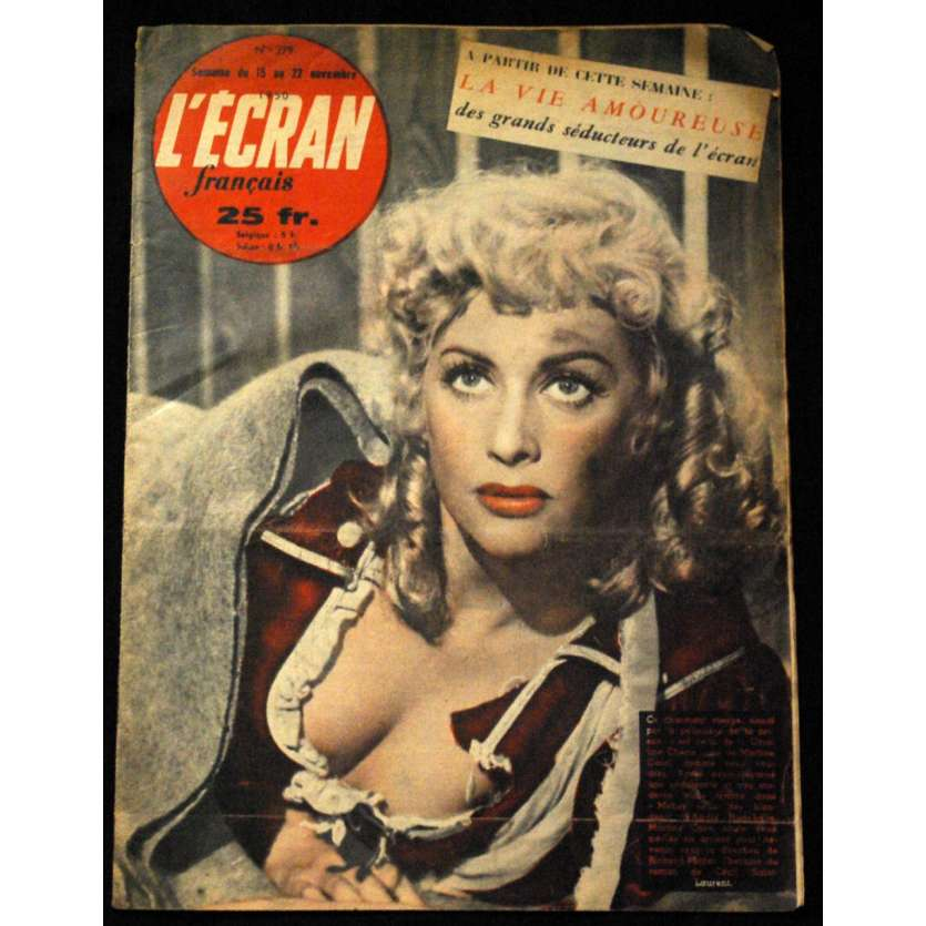 L'Ecran Français – N°279 – 1950 – Martine Carol