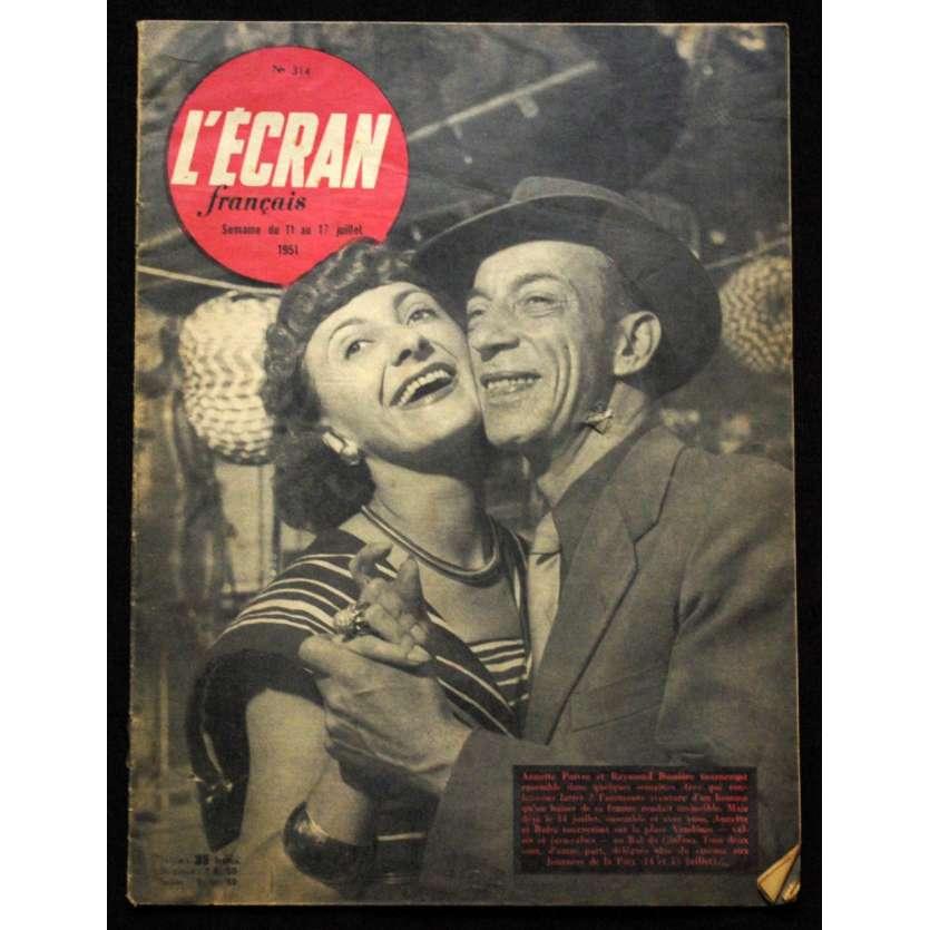 L'Ecran Français – N°314 – 1951 – Raymond Bussiere