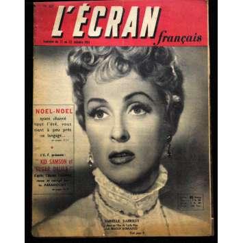 L'Ecran Français – N°327 – 1951 – Danièle Darrieux