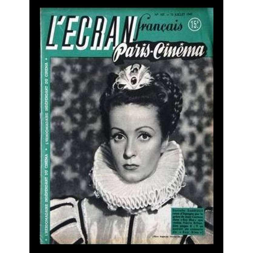 L'Ecran Français – N°107 – 1947 – Danièle Darrieux