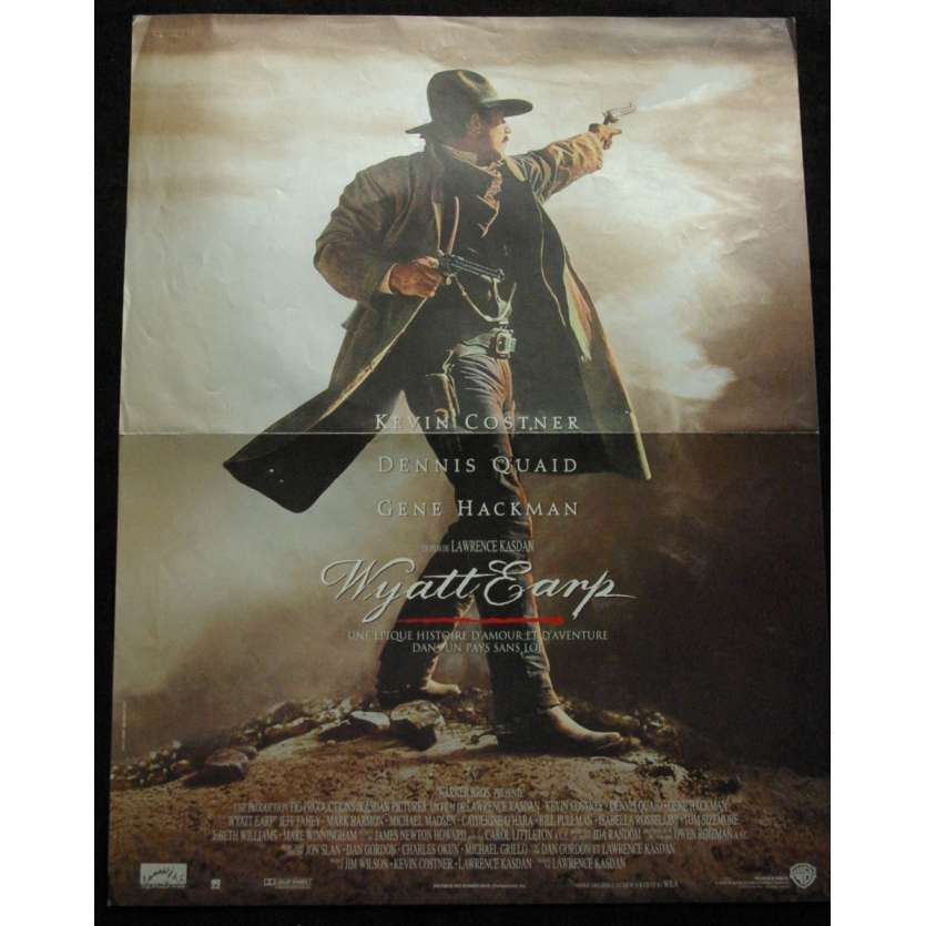 'WYATT EARP Affiche 40x60 FR ''94 Kevin Costner Movie Poster'