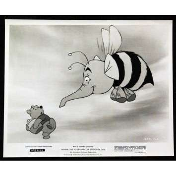 'WINNIE L''OURSON Photo de Presse 2 20x25 US ''77 Disney Press Sill'