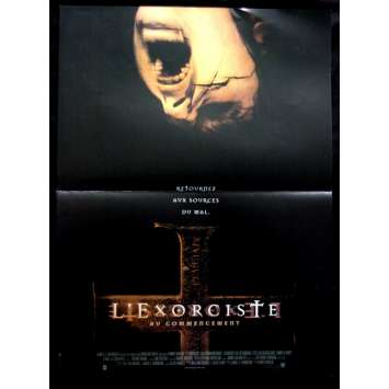 'L''EXORCISTE : AU COMMENCEMENT Affiche 40x60 FR ''04 Horror movie Poster'