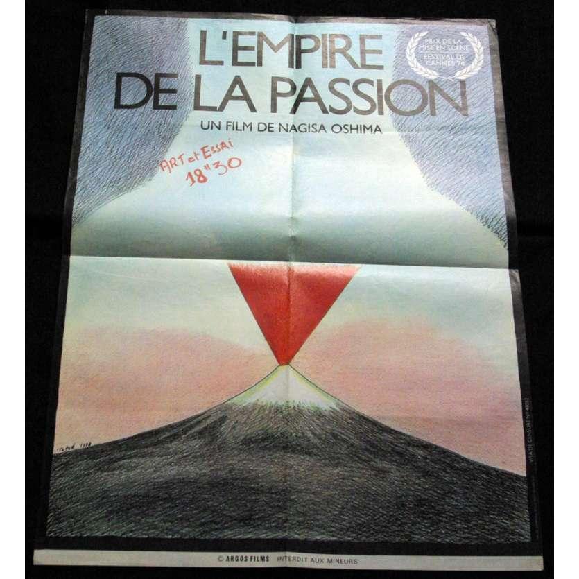 'L''EMPIRE DE LA PASSION Affiche 60x80 FR ''78 Nagisa Oshima Movie Poster'
